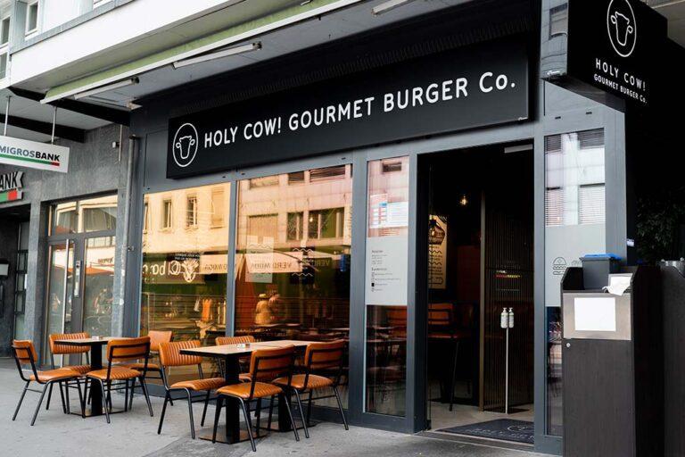 Holy Cow! Gourmet Burger in Biel - à Bienne